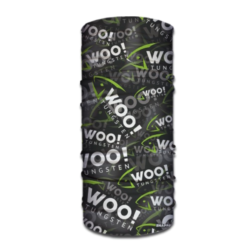WOO! Tungsten Face Shield (Green/White/Gray) - WOO! TUNGSTEN