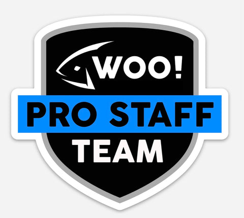 WOO! Tungsten Pro Staff Logo Sticker - WOO! TUNGSTEN