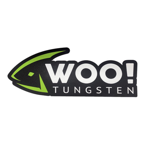 Mini WOO! Carpet Decal (12 inch) - WOO! TUNGSTEN