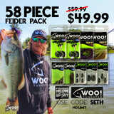 "FEIDER PACK - 58 Piece Tungsten and Accessories - USE CODE ""SETH"" - WOO! TUNGSTEN"