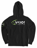 Super Soft WOO! Logo Hoodie (Black) - WOO! TUNGSTEN