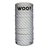 WOO! Tungsten Face Shield (Carbon Fiber White) - WOO! TUNGSTEN