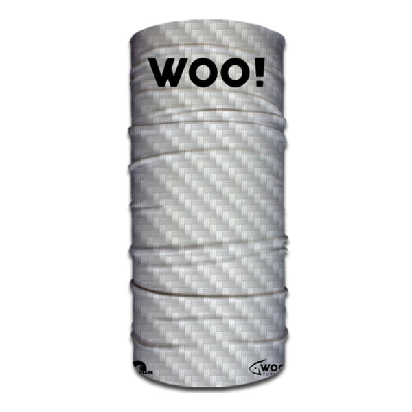 WOO! Tungsten Face Buff (Carbon Fiber White) - WOO! TUNGSTEN