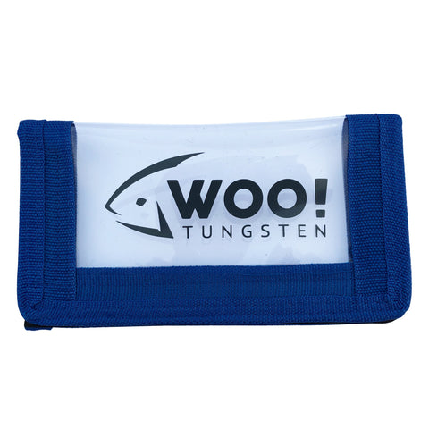 WOO! See-Thru Lure Wrap (Blue) - WOO! TUNGSTEN