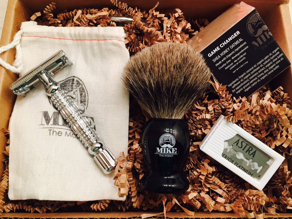 Complete Wet Shave Kit