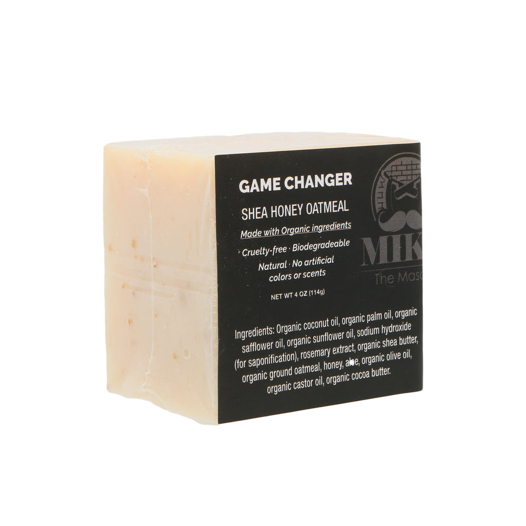 Game Changer | Honey Oatmeal Shave Bar