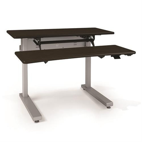 Ergotron Elevate Adjusta 48, Electric Sit-Stand Desk - Stretch Desks - Height Adjustable Standing Desk