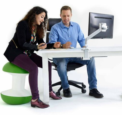 Humanscale Ballo Stool - Stretch Desks - Height Adjustable Standing Desk
