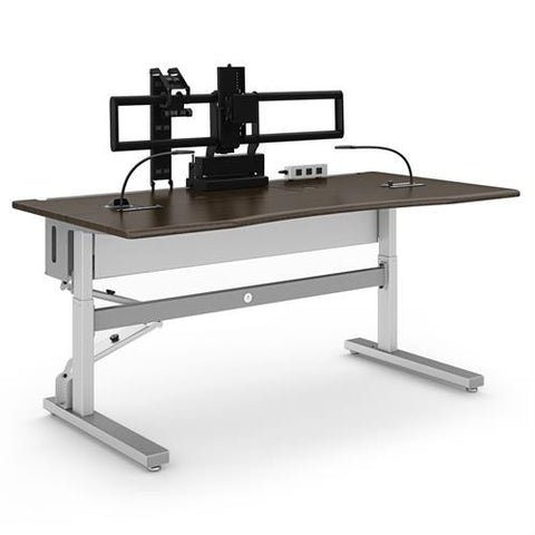 Ergotron Anthro Steve's Station Advanced - Single 72 - Stretch Desks - Height Adjustable Standing Desk