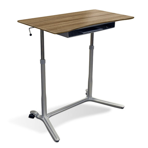 Unique Furniture Height Adjustable Sit Stand Desk - Stretch Desks - Height Adjustable Standing Desk