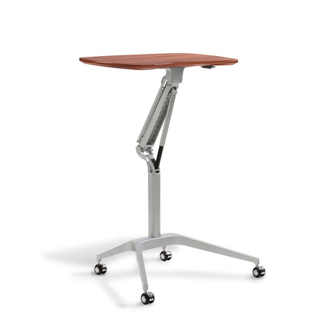 Unique Furniture Height Adjustable Laptop Cart - Stretch Desks - Height Adjustable Standing Desk