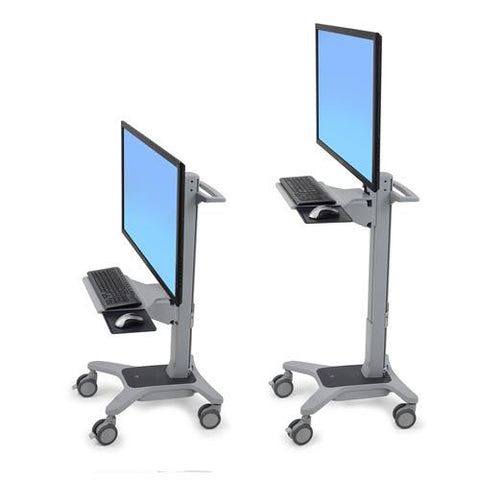 Ergotron Neo-Flex® WideView WorkSpace - Stretch Desks - Height Adjustable Standing Desk