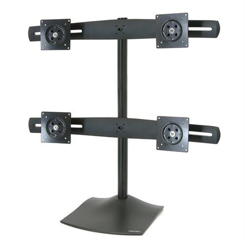 Ergotron DS100 Quad-Monitor Desk Stand - Stretch Desks - Height Adjustable Standing Desk