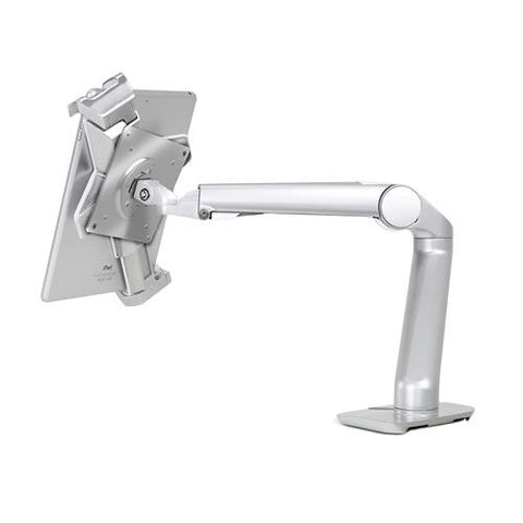 Ergotron MX Mini Desk Mount Arm (polished aluminum) - Stretch Desks - Height Adjustable Standing Desk