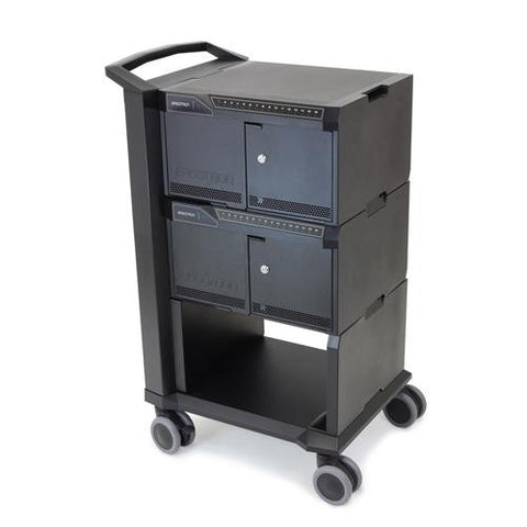 Ergotron Tablet Management Cart 32, with ISI for Apple