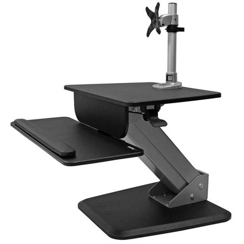StarTech Single Monitor Sit-to-stand Workstation - Stretch Desks - Height Adjustable Standing Desk