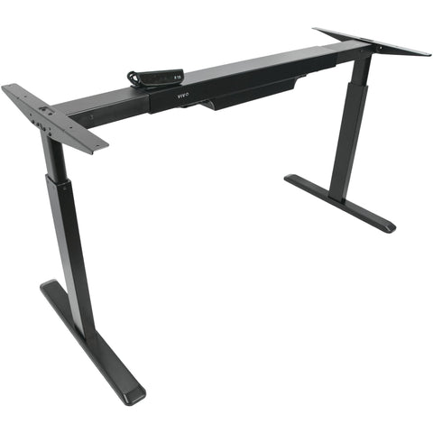 Vivo Electric Single Motor Stand Up Desk Frame - Stretch Desks - Height Adjustable Standing Desk