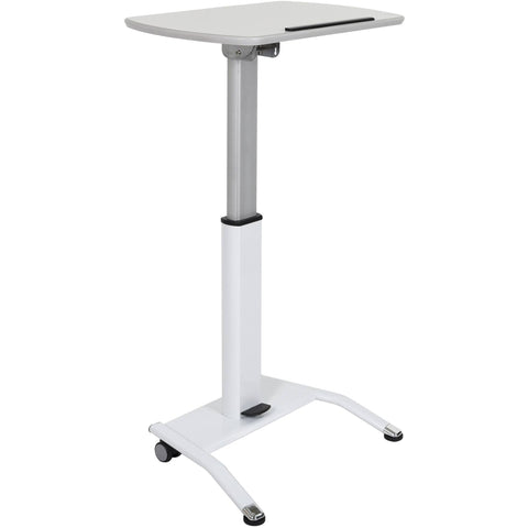 Luxor Height Adjustable Pneumatic Lectern - Stretch Desks - Height Adjustable Standing Desk