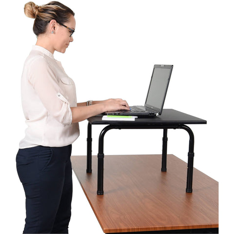 "Luxor 24"" Desktop Standing Desk - Stretch Desks - Height Adjustable Standing Desk"