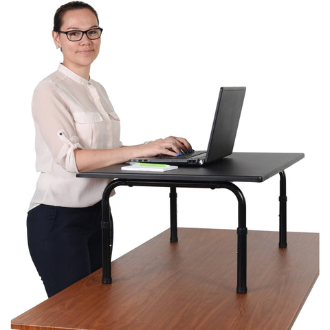"Luxor 32"" Desktop Standing Desk - Stretch Desks - Height Adjustable Standing Desk"