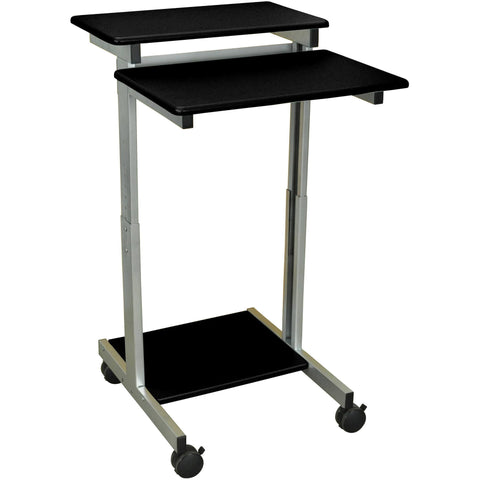 "Luxor 24"" Standing Presentation Station - Stretch Desks - Height Adjustable Standing Desk"