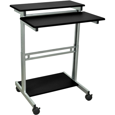 "Luxor 31.5"" Adjustable Stand Up Workstation - Stretch Desks - Height Adjustable Standing Desk"