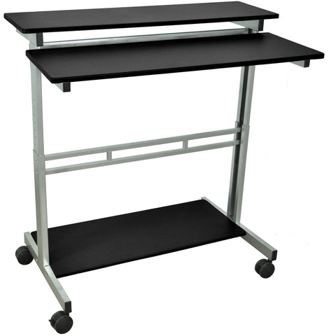 "Luxor 40"" Adjustable Stand Up Desk - Stretch Desks - Height Adjustable Standing Desk"