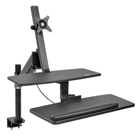 Tripp Lite WorkWise Standing Desk-Clamp Workstation, Single-Monitor