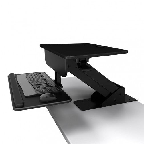 Atdec A-STSCB Sit to Stand Desk Clamp Workstation - Stretch Desks - Height Adjustable Standing Desk