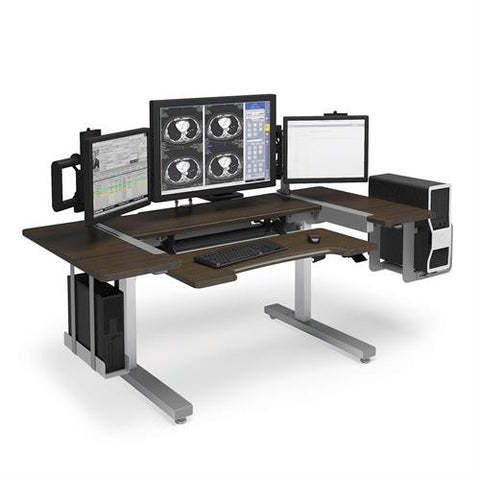 Ergotron Anthro Steve's Station Essential - Dual 72 - Stretch Desks - Height Adjustable Standing Desk