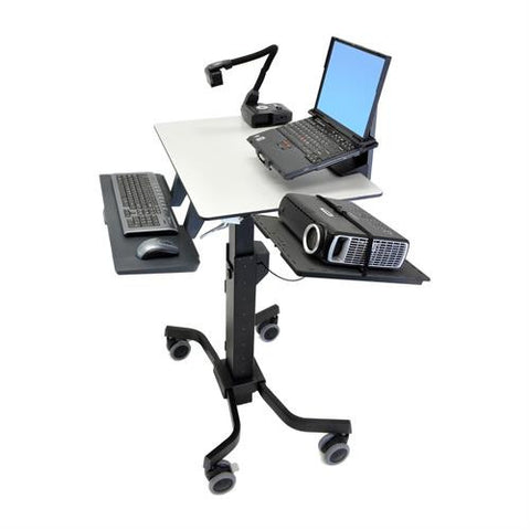Ergotron TeachWell® Mobile Digital Workspace - Stretch Desks - Height Adjustable Standing Desk
