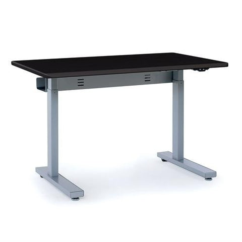 Ergotron Elevate 48, Electric Sit-Stand Desk - Stretch Desks - Height Adjustable Standing Desk