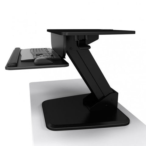 Atdec A-STSFB Freestanding Sit-to-Stand Workstation - Stretch Desks - Height Adjustable Standing Desk