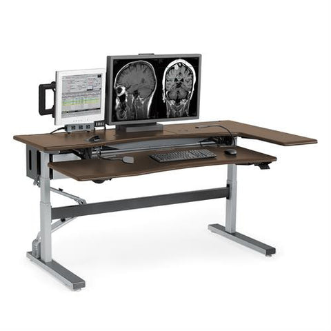 Ergotron Anthro Steve's Station Advanced - Dual 72 - Stretch Desks - Height Adjustable Standing Desk