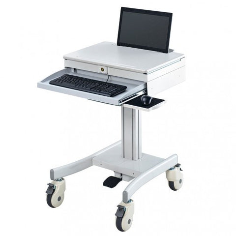 Atdec A-NC All-Purpose Notebook Mobile Cart - Stretch Desks - Height Adjustable Standing Desk
