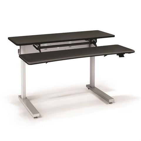 Ergotron Elevate Adjusta 60, Electric Sit-Stand Desk - Stretch Desks - Height Adjustable Standing Desk
