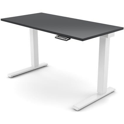 "Humanscale eFloat Electric Standing Desk - 24"" Depth - Stretch Desks - Height Adjustable Standing Desk"