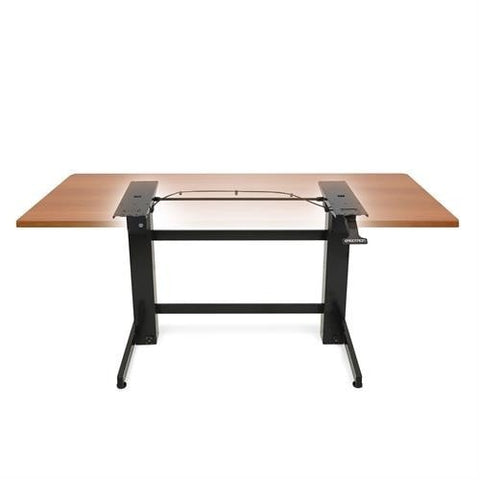 Ergotron WorkFit-B, Sit-Stand Desk - Frame Only - Stretch Desks - Height Adjustable Standing Desk