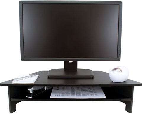 High Rise Monitor Stand - Stretch Desks - Height Adjustable Standing Desk