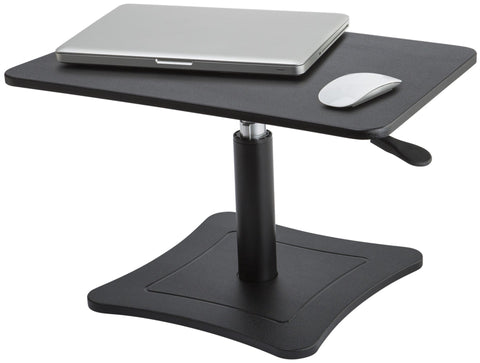 High Rise Height Adjustable Laptop Stand (Black or White) - Stretch Desks - Height Adjustable Standing Desk