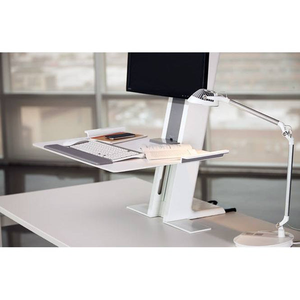 Humanscale QuickStand Single Monitor - Stretch Desks - Height Adjustable Standing Desk