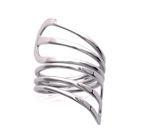 Wraparound Silver Ring - Artizen Jewelry