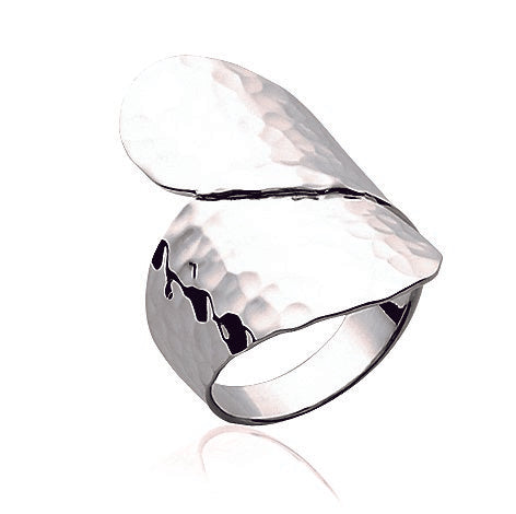Hammered Silver Ring - Artizen Jewelry