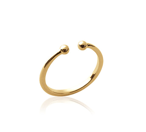 Open Mini Ball Ring - Artizen Jewelry