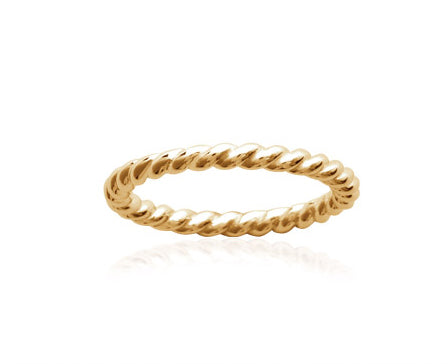 Twisted Rope Ring - Artizen Jewelry