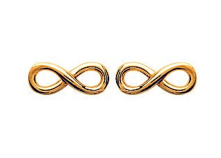 Infinity Earrings - Artizen Jewelry