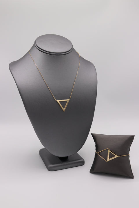 Open Triangle Bracelet - Artizen Jewelry