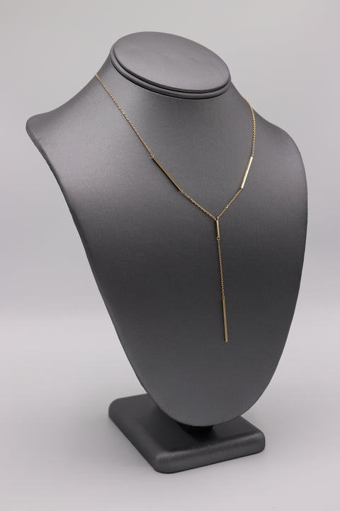 """Y"" Necklace - Artizen Jewelry"