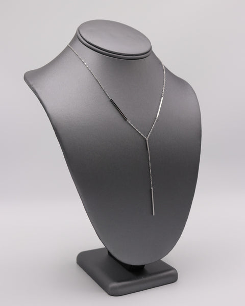 """Y"" Silver Necklace - Artizen Jewelry"