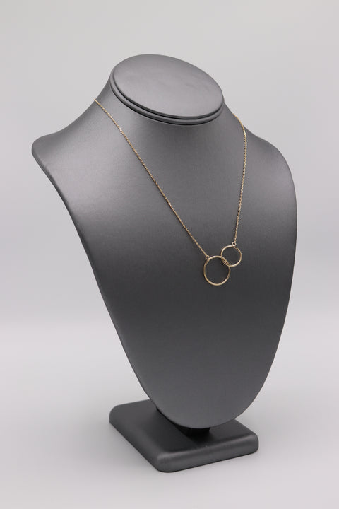 Interlocking Circle Necklace - Artizen Jewelry
